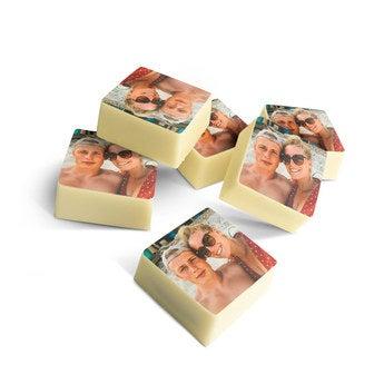 Cioccolatini Personalizzati - Quadrati