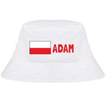 Bucket hat z imieniem