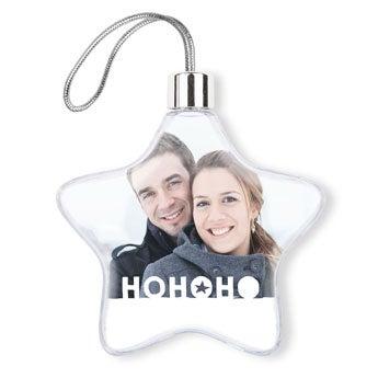 Decoraciones navideñas - Plástico - Estrella