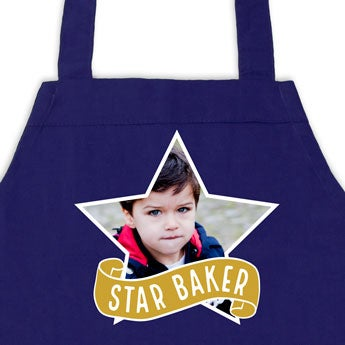 Children's apron with name