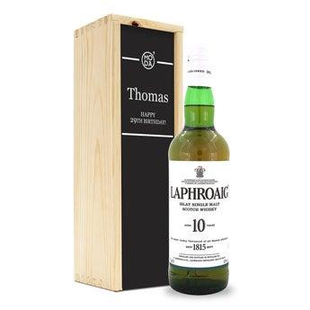 Laphroaig 10 anni - In Confezione Personalizzata