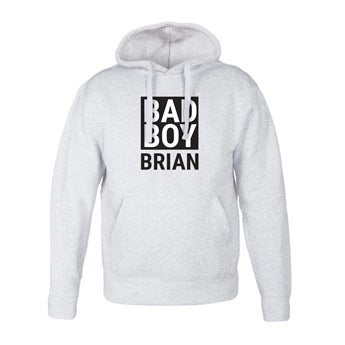 Men's hoodies - Grey