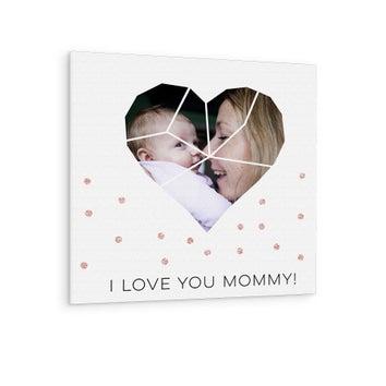 Äitienpäivän canvas-taulu