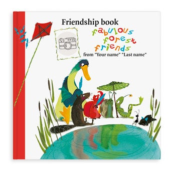 Friendship book - Super Friends