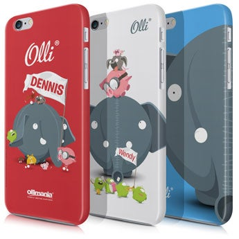 Ollimania - iPhone 5 - fotokod 3D-utskrift