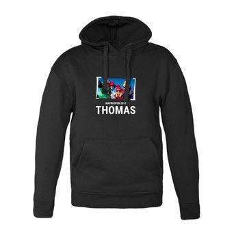 Men's hoodies - Black