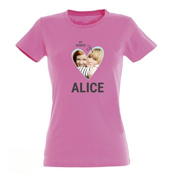 Dames T-shirt - Roze