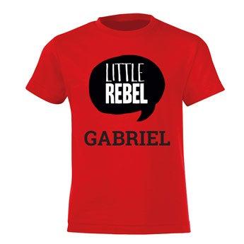 Lasten T-paita - punainen
