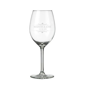 Graverede glas