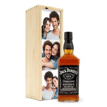 Whisky i personaliserad låda