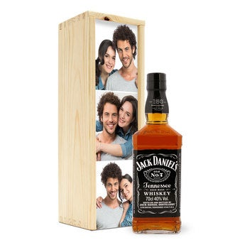 Whisky in personalised case