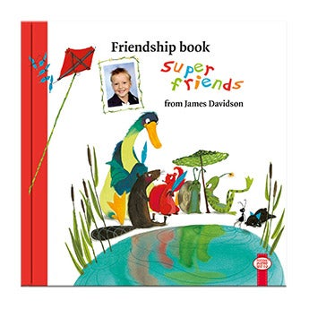 Friendships book super friends