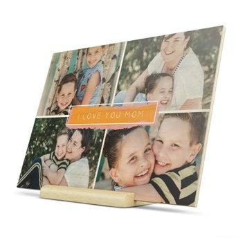 Puinen kortti - Äitienpäivä