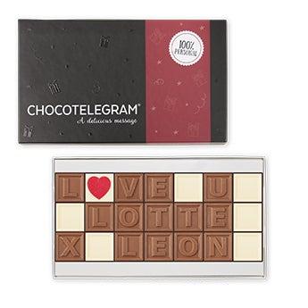 Csokoládé telegram