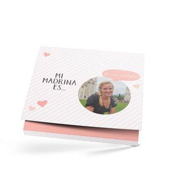 Milka giftbox - Madrinha - 110 gr (coração)