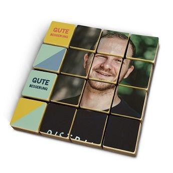 Schokoladen Puzzle
