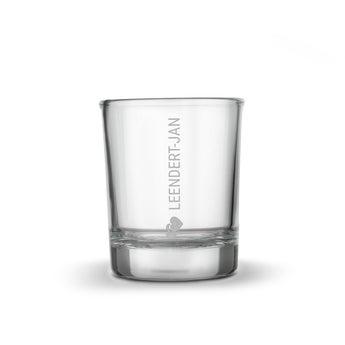 Personalised shot glasses