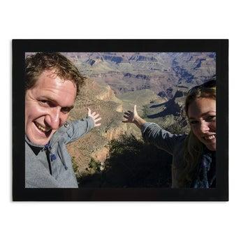 Glazen fotolijst met foto