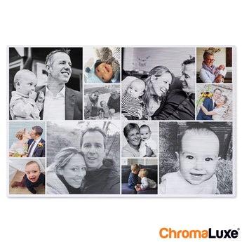 Chromaluxe Fotopaneel Aluminium - geborsteld
