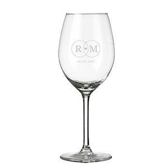 Graverade Glas med Egen Text