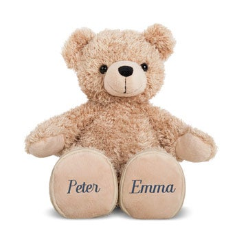 Personalised bear - Embroidered name(s)