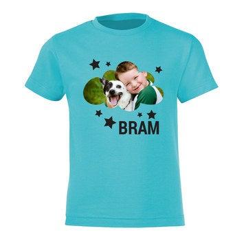 Kinder T-shirt - Licht blauw