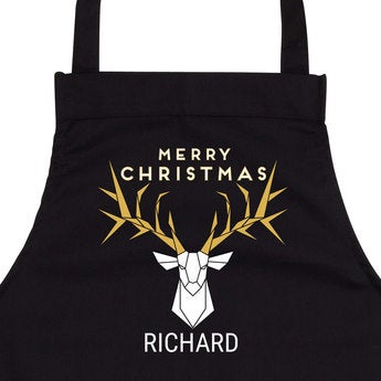 Custom Christmas apron
