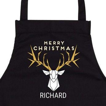 Avental de Natal personalizado