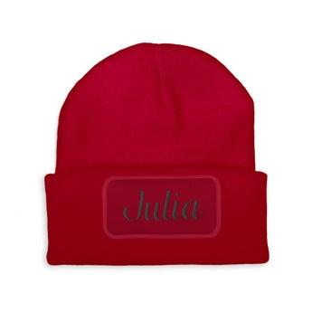 Wyszywana czapka