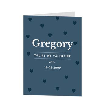 Valentine's Day card - M - Vertical