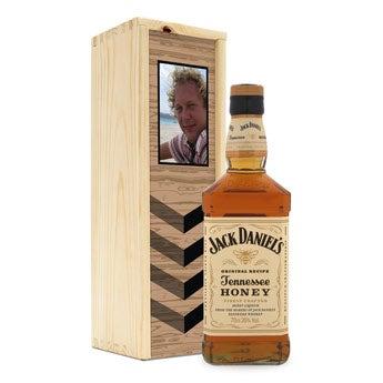 Bourbon Jack Daniels Honey - w skrzynce