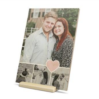 Wooden card - horizontal