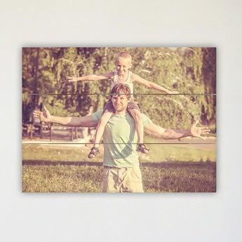Foto på träplankor