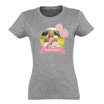 T-shirt Festa della mamma - Grigio - L