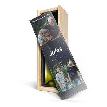 Caisse de vin personnalisée