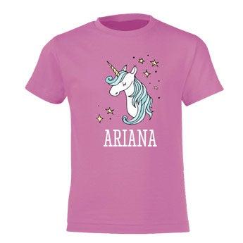 Koszulka dziecięca - różowa