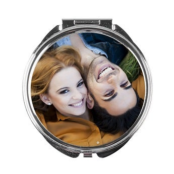 Taschenspiegel mit Foto
