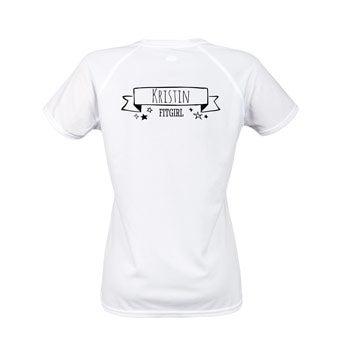 Sportshirt Damen - Weiß