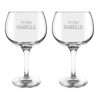 Gin Tonic Gläser