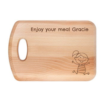 Bread board with name