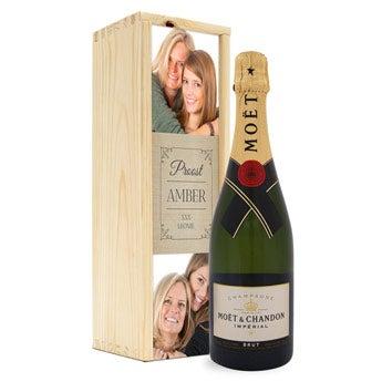 Šampaňské s fotografií