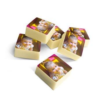 Chocolats photo imprimés