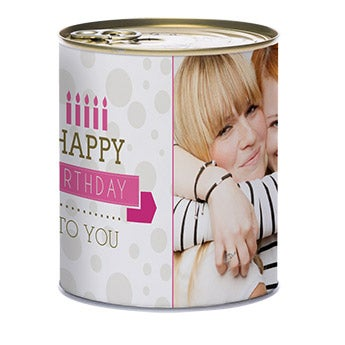 Tin of sweets