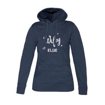 Women's hoodies - Navy