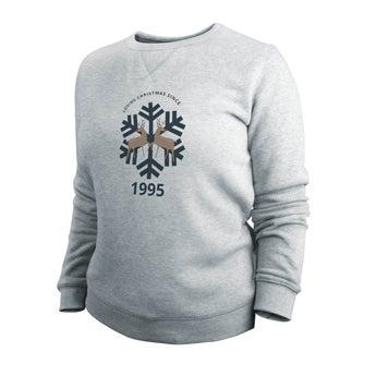 Jultröja - Kvinna - Grå - S