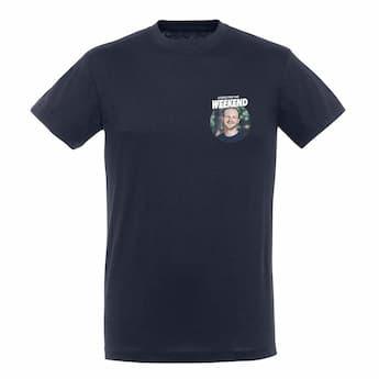 Miesten T-paita - sininen