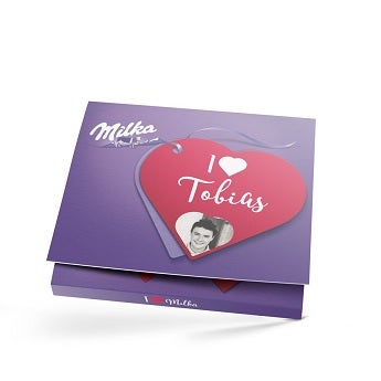 Sag es mit Milka Liebe