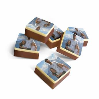 Suklaakonvehti - neliö