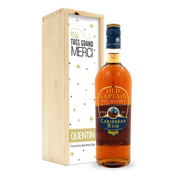 Rhum Old Captain Brun