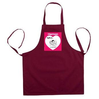Kärlek är .. kökförkläde - Grå